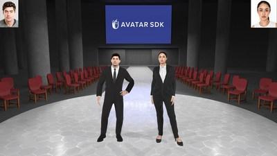 Avatar SDK creates recognizable full body avatars from selfies.